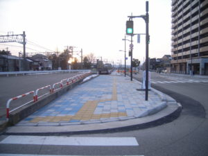 都市計画道路桜馬場長慶寺線街路総合交付金歩道舗装工事